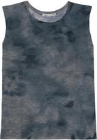 Autumn Cashmere Tie-dye cashmere tank