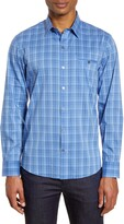 Zachary Prell Soleto Regular Fit Plaid Button-Up Shirt