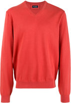 Hackett v-neck jumper - men - Cotton - L