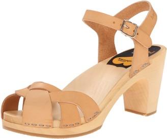 Swedish Hasbeens Women's Kringlan Heeled Sandal