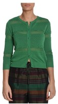 Suoli Women's Green Cotton Cardigan.