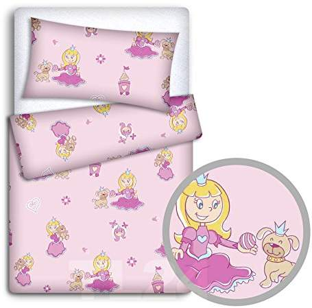 COT 2PC BABY BEDDING SET PILLOWCASE /& DUVET COVER CRIB COT BED