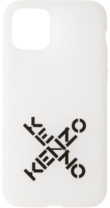 Kenzo White Sport Logo iPhone 11 Pro Case