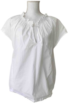 Bruuns Bazaar White Cotton Top for Women