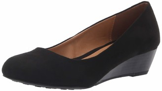 Chinese Laundry Women's Marcie Super Sued Wedge Pump
