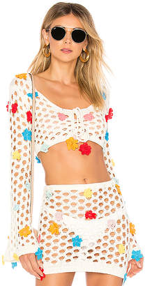 Lovers + Friends Flower Power Top