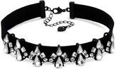 Lipsy Crystal Cluster Choker Necklace
