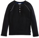 Splendid Boys' Long Sleeve Raglan Henley - Sizes 2-7T