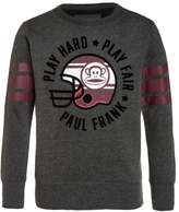 Paul Frank PLAY HARD CREW Sweatshirt dark grey melange