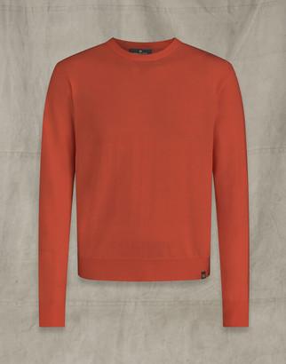 Belstaff ENGINEERED CREW NECK Orange