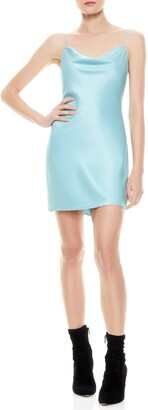 Alice + Olivia Nelle Fitted Minidress