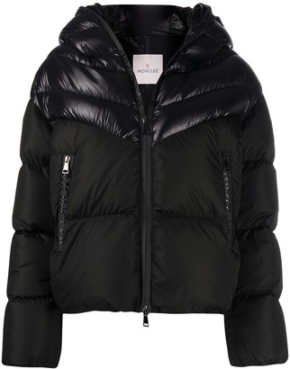 Moncler Guenioc two-tone padded jacket