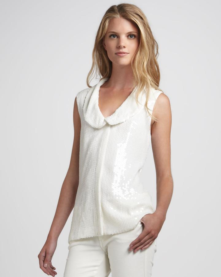 Rachel Zoe Tenley Sequined Tunic