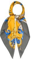 Hermes Ferronnerie Silk Scarf