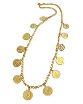 Ben-Amun Moroccan Coin Chain Necklace