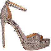 Badgley Mischka Retro Glitz Platform Sandals