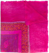 Avant Toi printed scarf - women - Cashmere/Silk - One Size