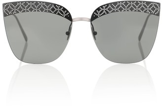 Alaia Embellished cat-eye sunglasses