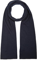 Barneys New York MEN'S DIAGONAL-RIBBED WOOL-CASHMERE SCARF
