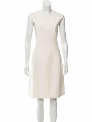 Narciso Rodriguez Sleeveless Knee-Length Dress