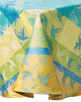 Garnier Thiebaut Mille Colibris Round Tablecloth