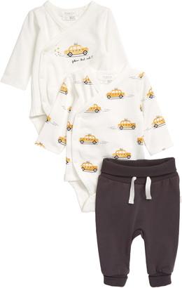 Petit Lem Stretch Cotton Shirt & Pants Set
