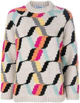Prada patterned jumper