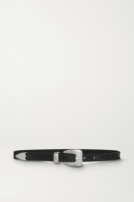 Kate Cate Leather Belt - Black
