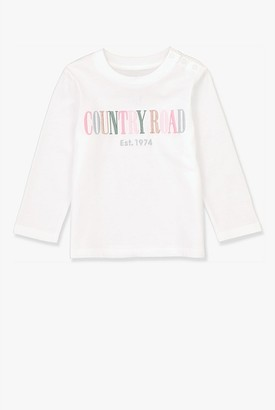Country Road Long Sleeve Multi Heritage T-Shirt