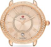 Michele Serein 16 Diamond Dial Watch Head, 34mm