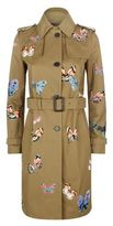 Valentino Butterflies Trench Coat