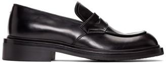 Prada Black Penny Loafers
