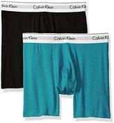 Calvin Klein Men's 2 Pack Modern Cotton Stretch Boxer Brief