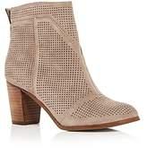 Toms Women's Lunata Perforated High Heel Booties