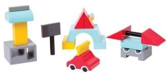 Toddler Manhattan Toy Beep The Robot Magentic Blocks