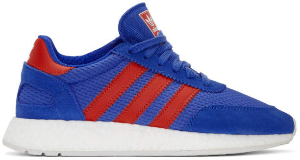 adidas Blue and Red I-5923 Sneakers