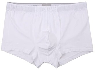 Hanro Cotton Superior Boxer Brief (White) Men's Underwear