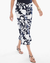 Chico's Floral Shadows Crop Pants