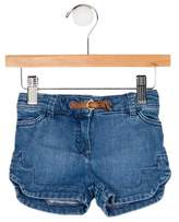 Chloé Girls' Denim Mini Shorts