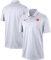 Nike Men's White Clemson Tigers Franchise Performance Polo