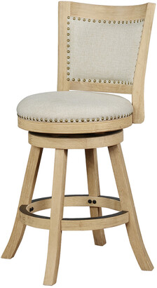 Linon Tift Natural Counter Stool