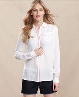 Tommy Hilfiger Shirt, Long-Sleeve Button-Down
