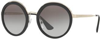 Prada PR 50TS Round Sunglasses
