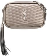 Saint Laurent metallic Lou crossbody bag