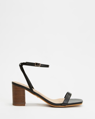 Billini - Women's Black Strappy sandals - Yarrow - Size 6 at The Iconic
