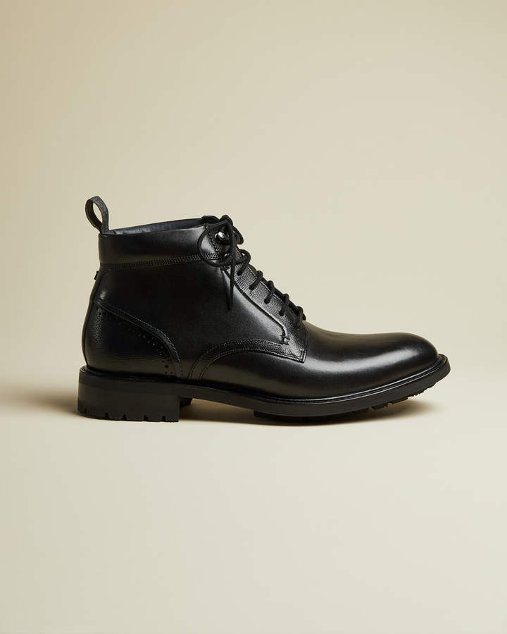 Ted Baker WOTTSN Leather lace up boots