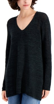 Eileen Fisher Straight V-Neck Tunic
