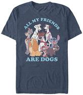 Fifth Sun Tee Shirts NAVY - Navy Heather 'Dog Friends' Tee - Adult