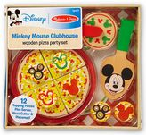Melissa & Doug Mickey Mouse Clubhouse Wooden Pizza Party Set by