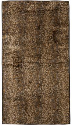 Wacko Maria Brown and Black Fur Rag Mat